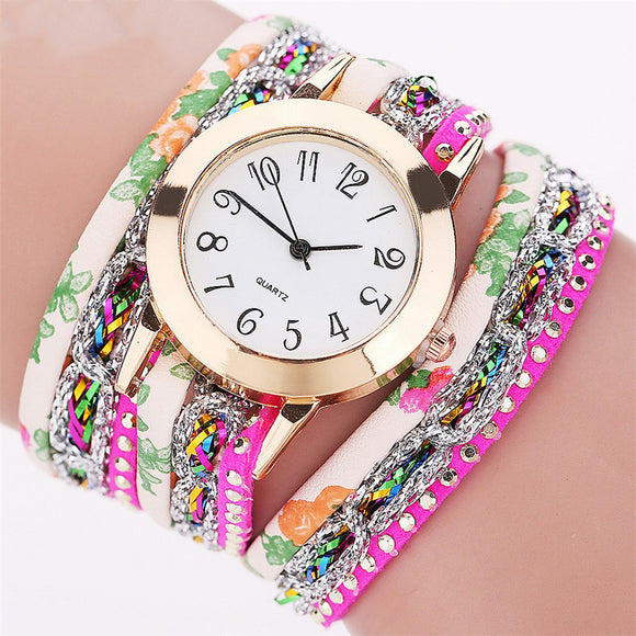 Colorful Bracelet Women's Watch