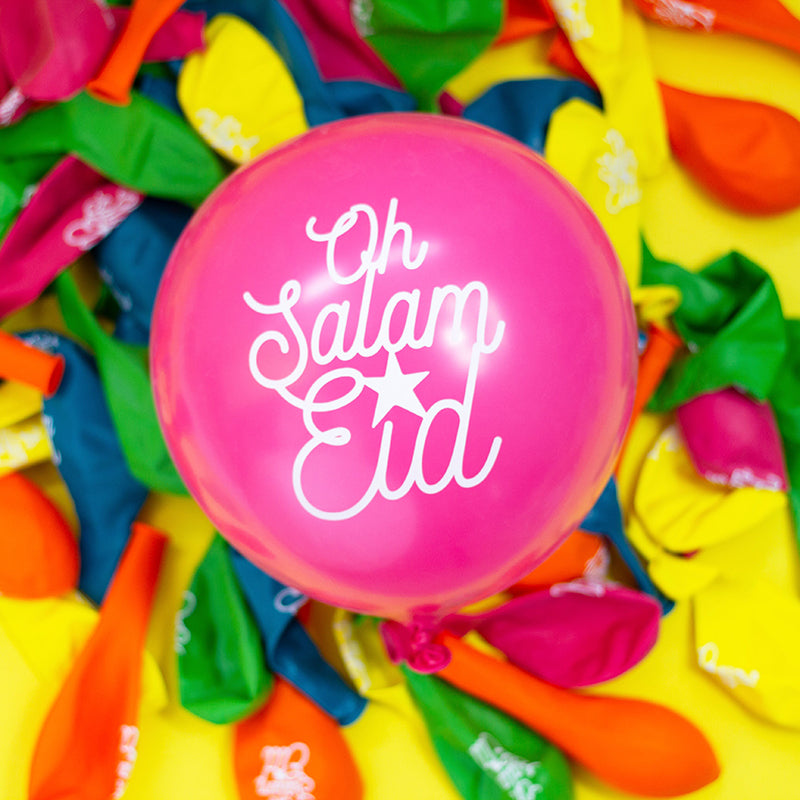 *Poppetry x Honey Lemon * Oh Salam Eid Balloons