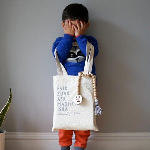 Kids Prayer Tote Bag