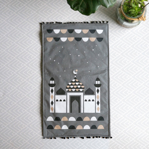 Kids Prayer Mat + Salah Chart