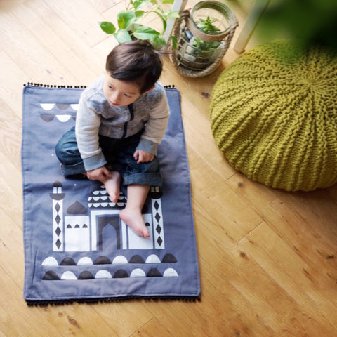 *SECONDS* Original 'Masjid' Kids' Prayer Mat