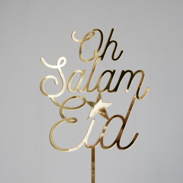 SALE *Poppetry x Honey Lemon* Oh Salam Eid Cake Topper