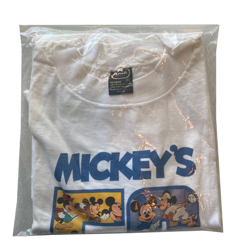 Mickey 50 DEADSTOCK - XL - VTG '76