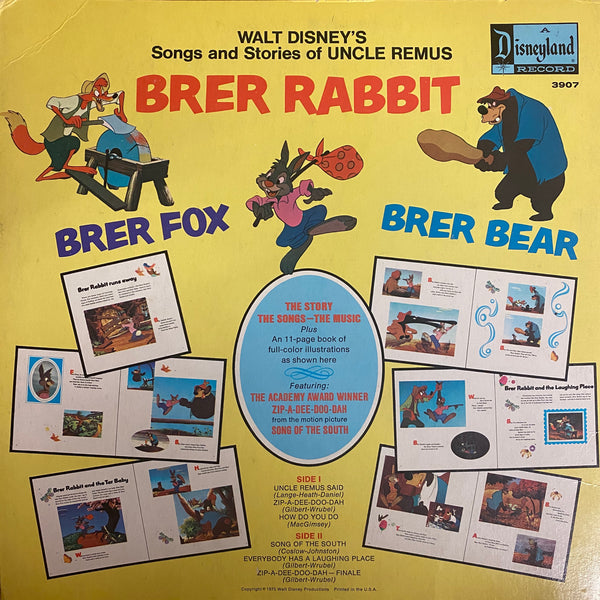 Brer Rabbit LP