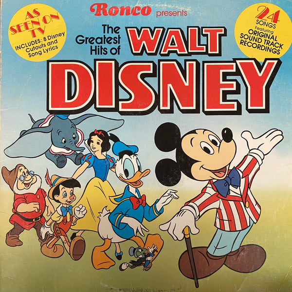 The Greatest Hits of Walt Disney LP