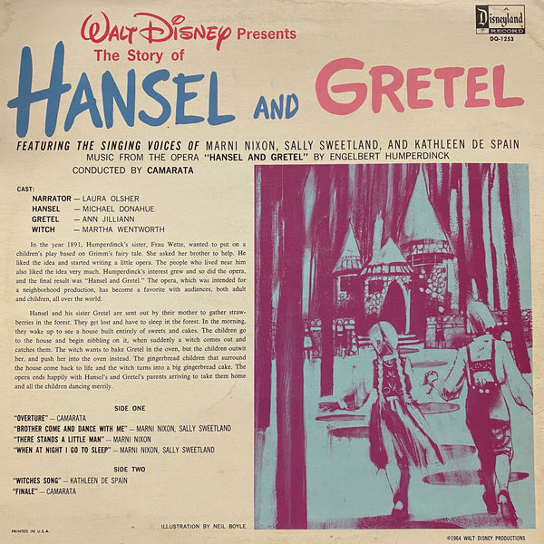 Hansel and Gretel LP