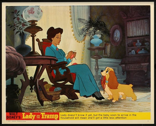Lady and the Tramp Lobby Cards
