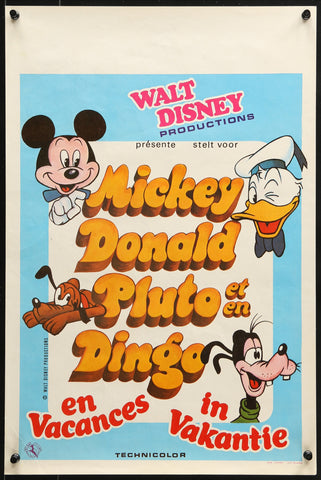 Mickey and the Gang 2 - Belgian - 1980