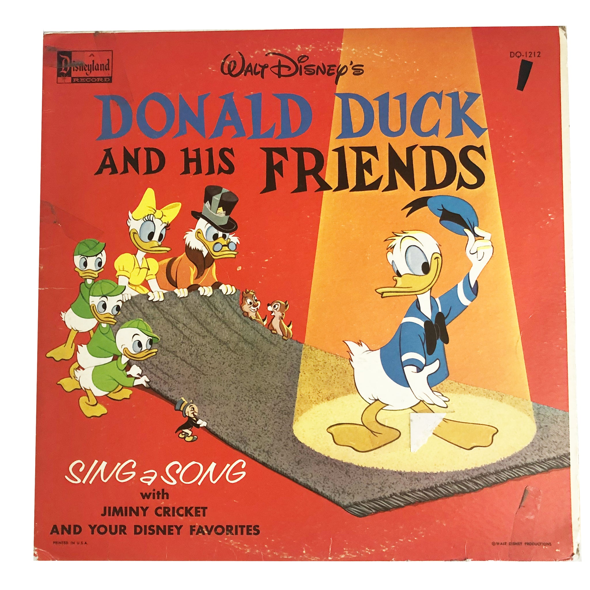 Donald and Friends Record