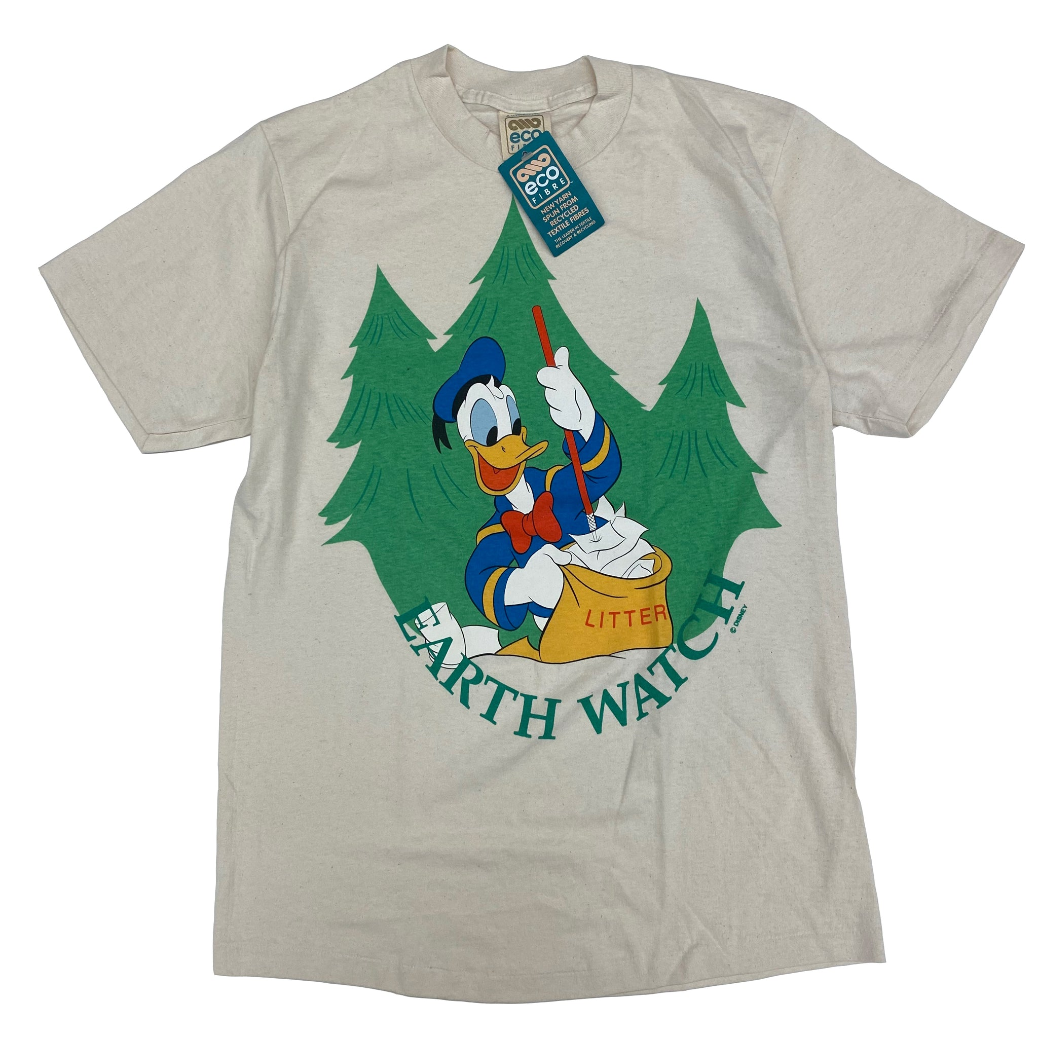 Donald Earth Watch BNWT - M - VTG '90s