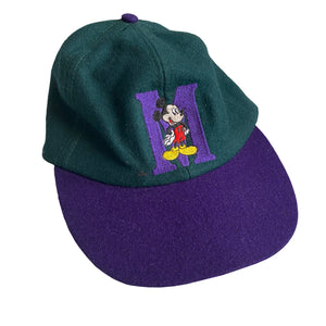 Mickey Hat Purple/Green- VTG 90s