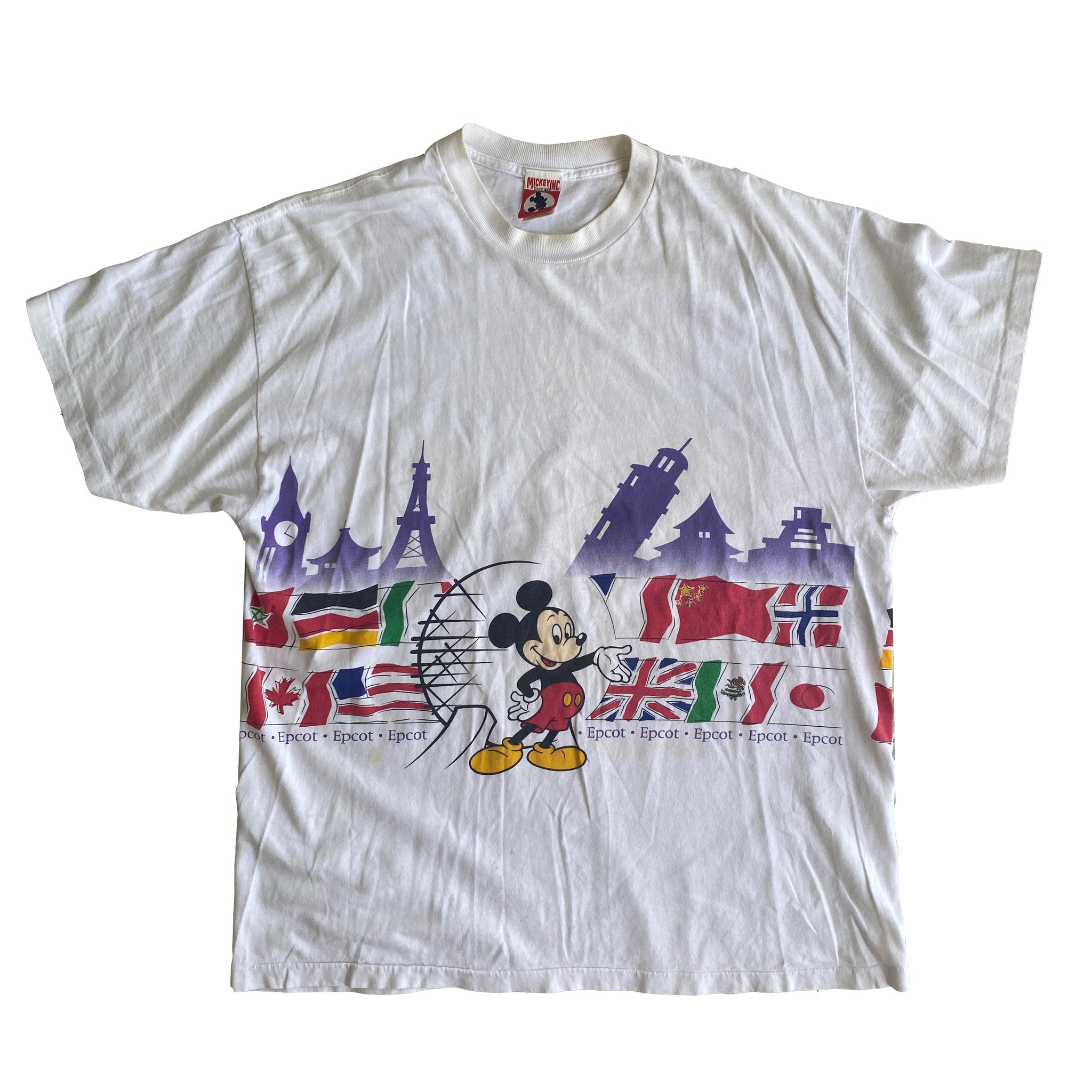 Epcot World Showcase- XL - VTG '90s