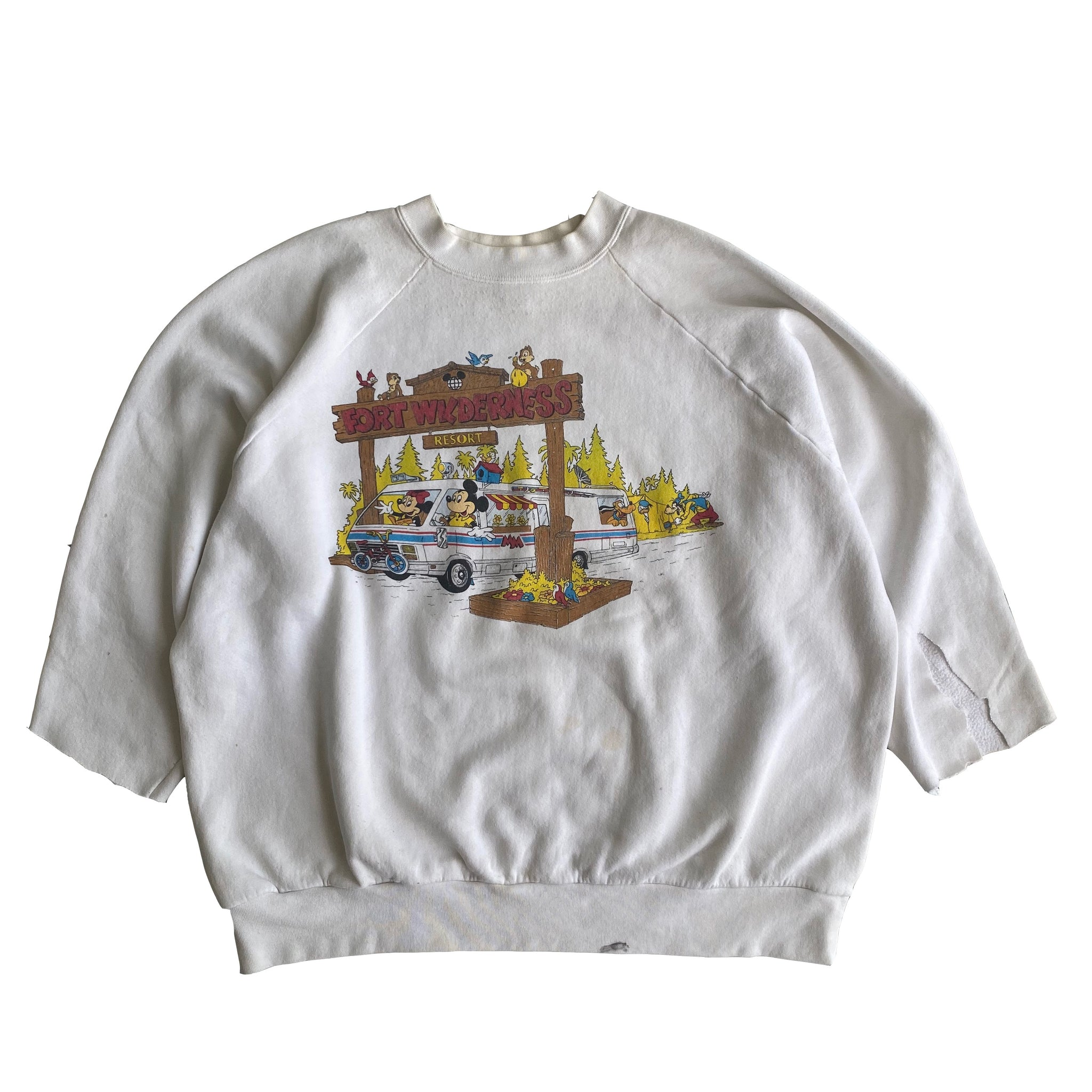 Fort Wilderness Crew - XXL - VTG 90s