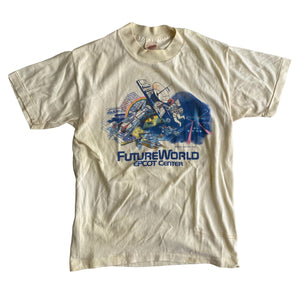 Future World Yellow - S - VTG 80s