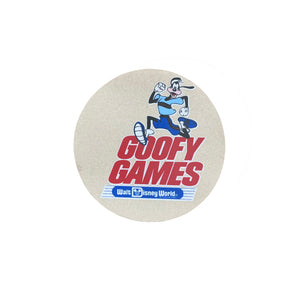 Goofy Games Sticker  - VTG 80s