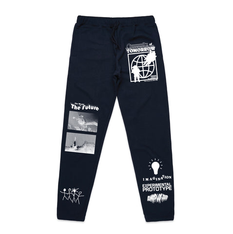 Community of Tomorrow Sweatpants - Navy