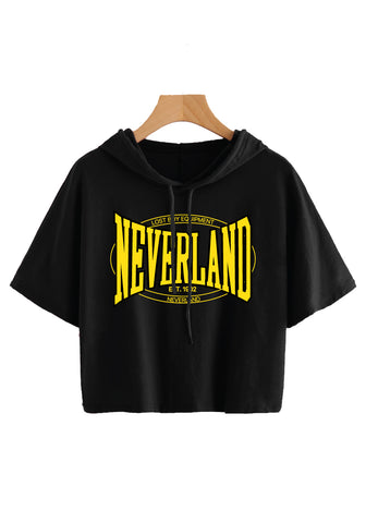Neverland Boxing Cropped Hoodie