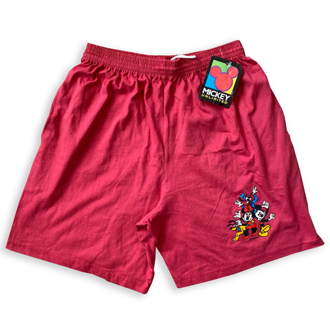 Mickey and Friends Shorts BNWT - M - VTG 90s