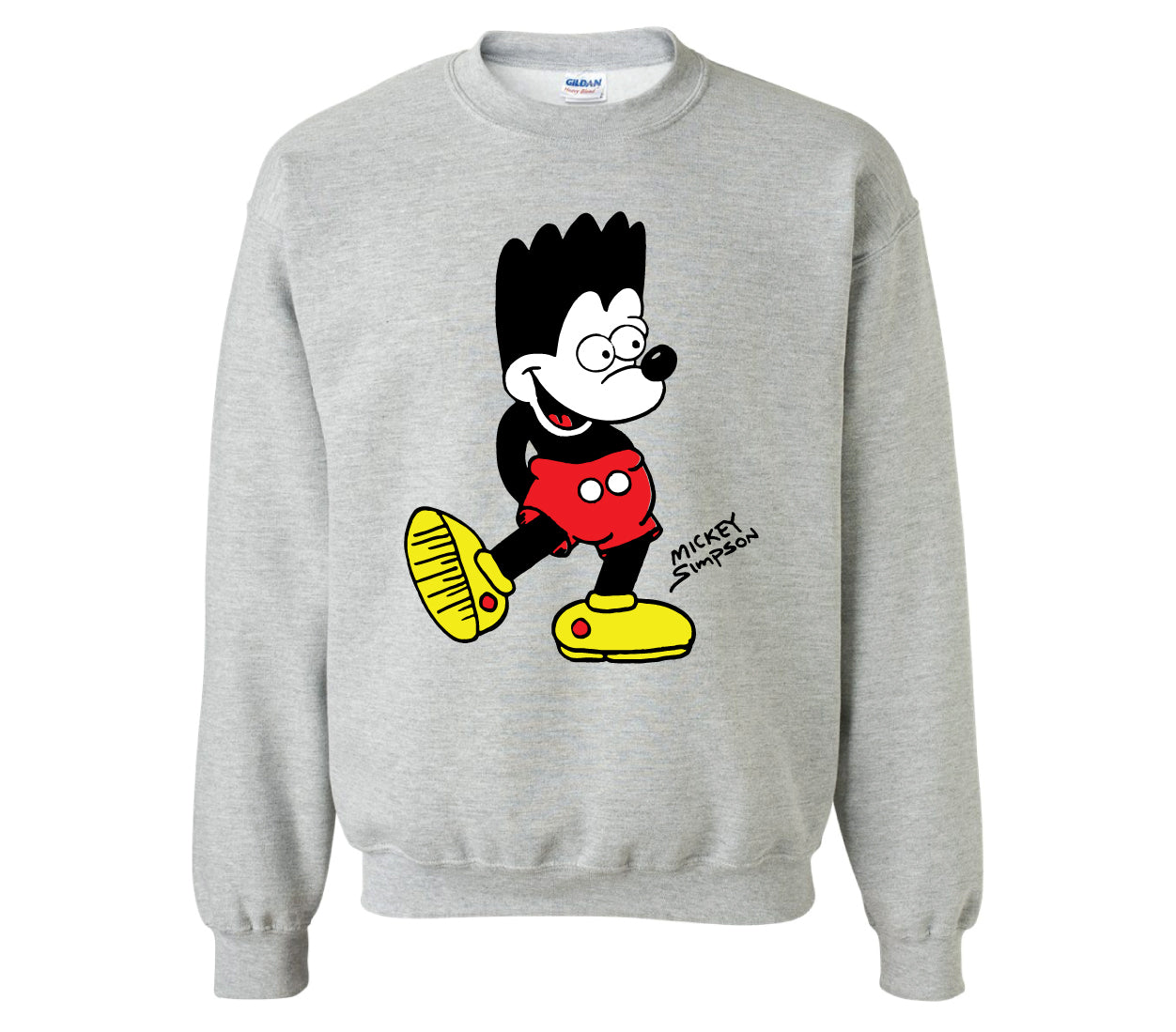 Mickey Simpson Crewneck