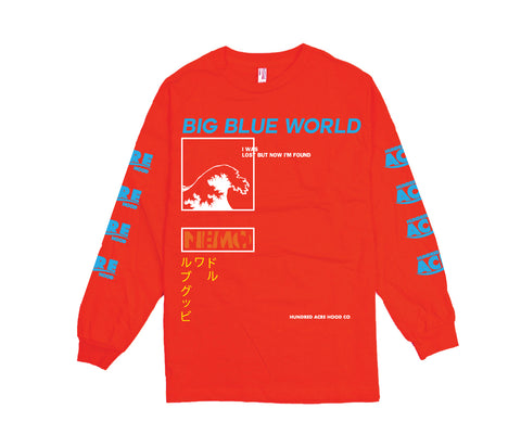Big Blue World L/S