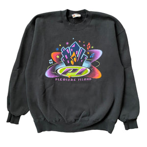Pleasure Island Crewneck - L - VTG 90s