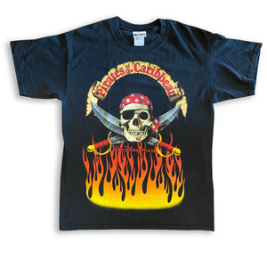 Pirates Flames - L - VTG '90s