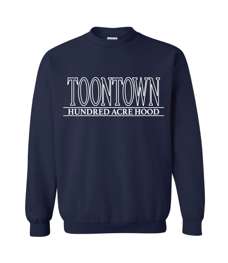 Toontown Tourist Crewneck