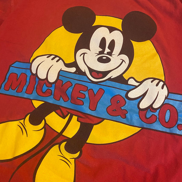 Mickey & Co Hangin - XL - VTG 90s