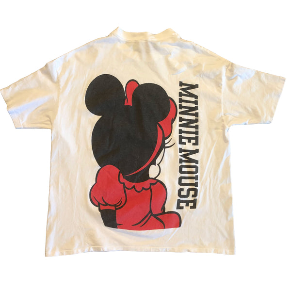 Minnie Mouse Spellout - XL - VTG 90s