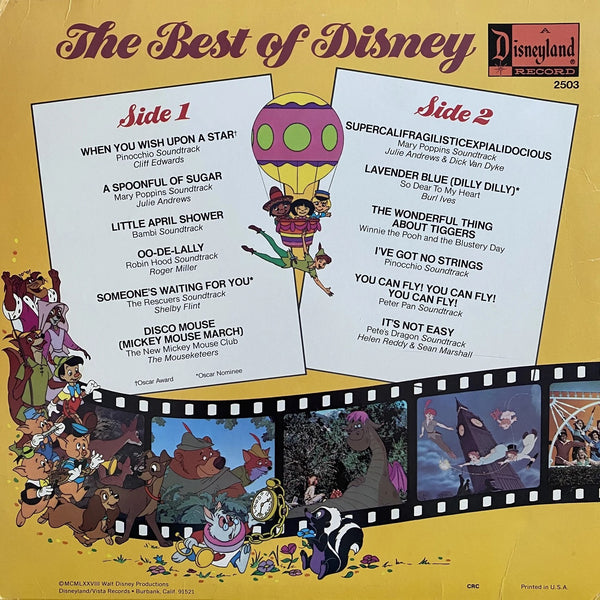 Best of Disney Vol 2 LP