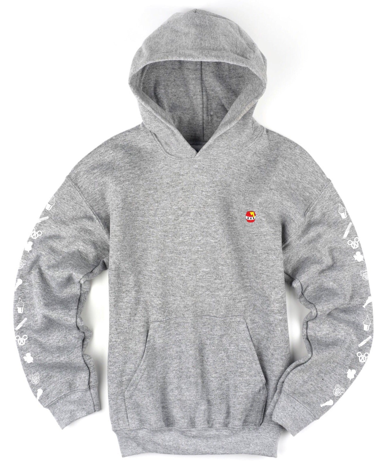 Snack Sweatshirt - Grey