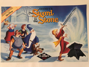 Sword in the Stone Black Diamond Poster