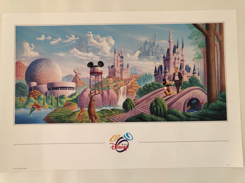 Art of Disney Poster