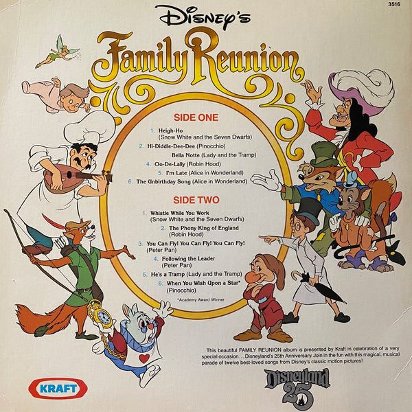 Disney's Family Reunion LP