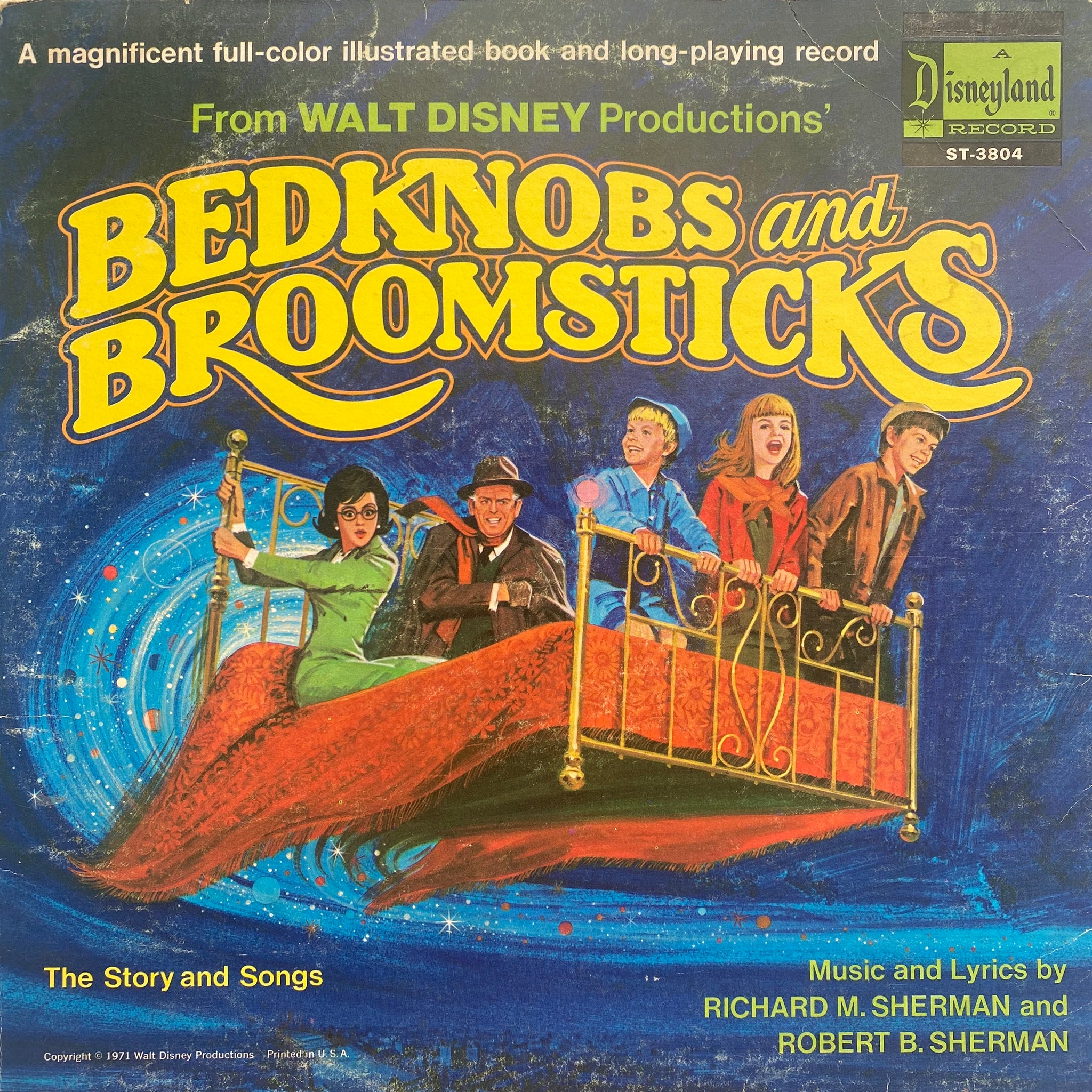 Bedknobs and Broomsticks LP
