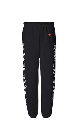 Snack Sweatpants - Black