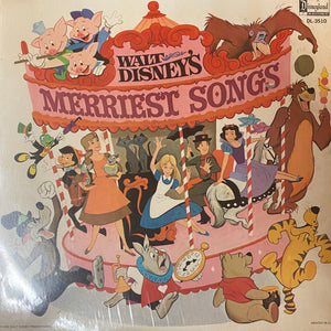 Disney's Merriest Songs LP