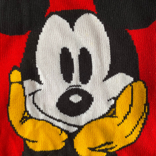 Mickey Mouse Sweater - XL - VTG 80s