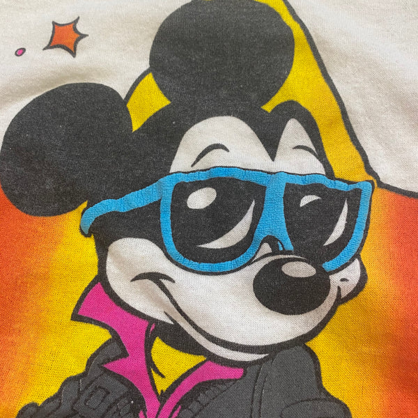Cool Guy Mickey Tee - XS/S - VTG 80s