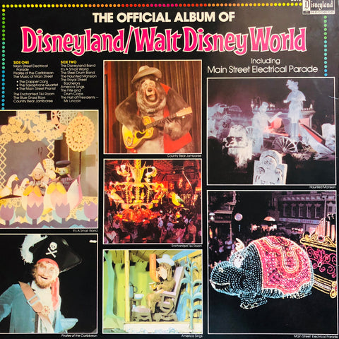 The Official Album of Disneyland/Walt Disney World