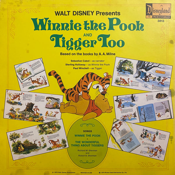 Winnie the Pooh and Tigger Too LP