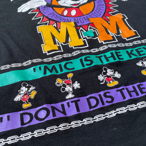 What Up Mic - XL - VTG 90s