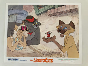 Aristocats Lobby Card 1970 1