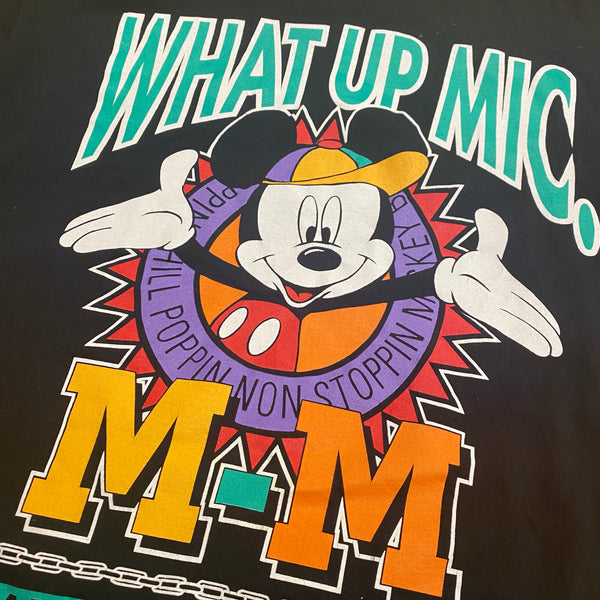 What Up Mic - XL - VTG 90s *Raffle*