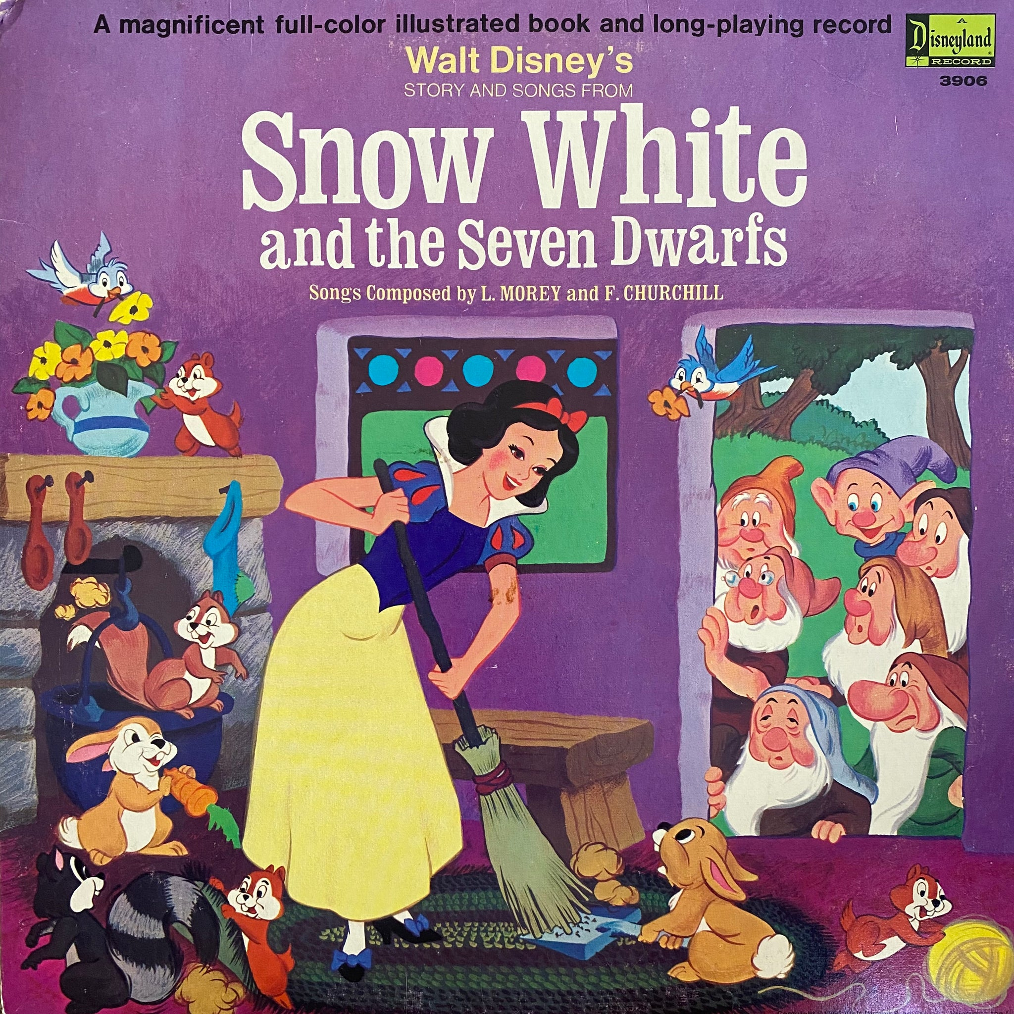 Snow White and the Seven Dwarfs LP