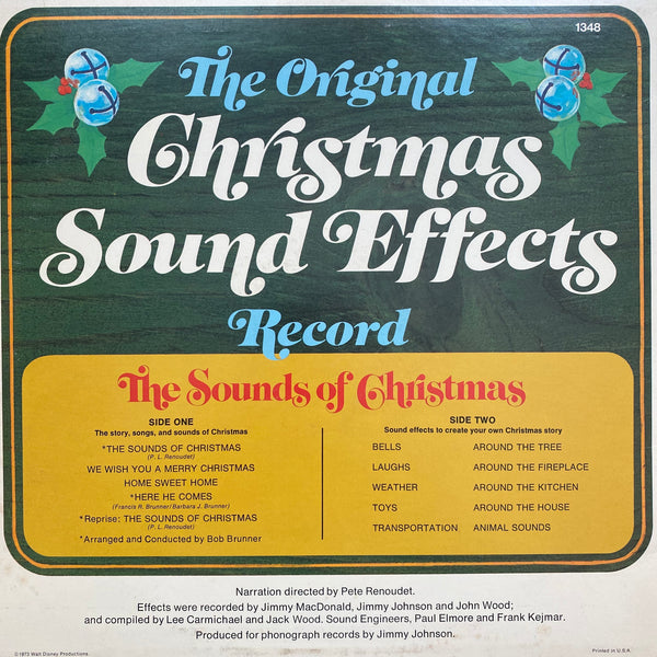 Disney The Sounds of Christmas LP