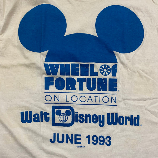 Wheel of Fortune WDW - L - VTG 93