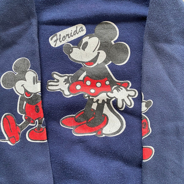 Mickey and Minnie Raglan - S - VTG 80s