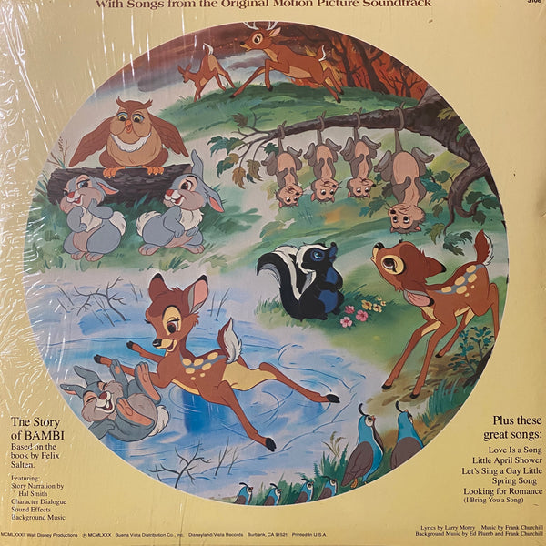 Bambi Picture Disc LP