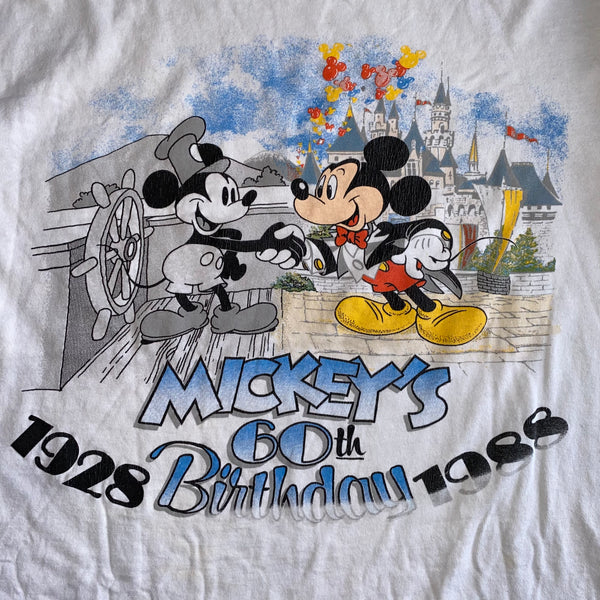 Mickey's 60th Birthday - L - VTG '88